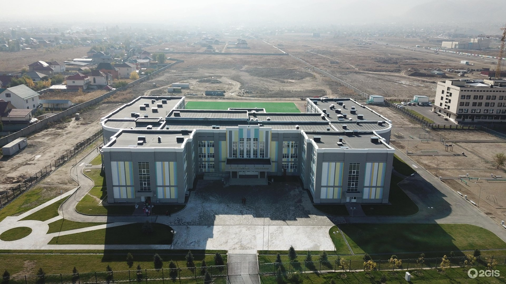 Фонд Саби, во главе с президентом Асель Тасмагамбетовой и соучредителем фонда Кенесом Ракишевым выстроил целую школу в Алмате.